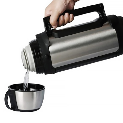 Термос универсальный (для еды и напитков) Tiger MHK-A170 XC (1.65 литра) серебристый