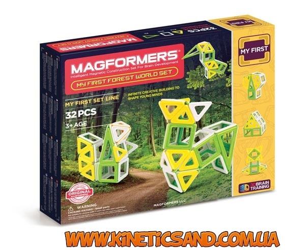 Magformers Мое первое путешествие в лесные края, 32 элемента