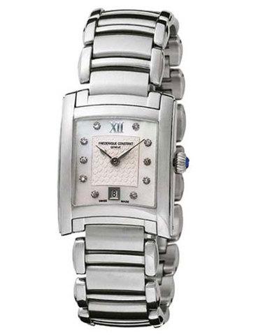 Часы женские Frederique Constant FC-220WHD2EC6B Caree