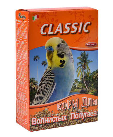Fiory Classic корм для волнистых попугаев 400г