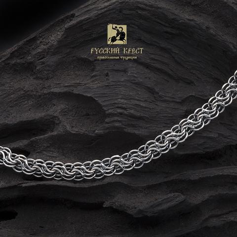 Серебряная цепочка на шею. Сармат