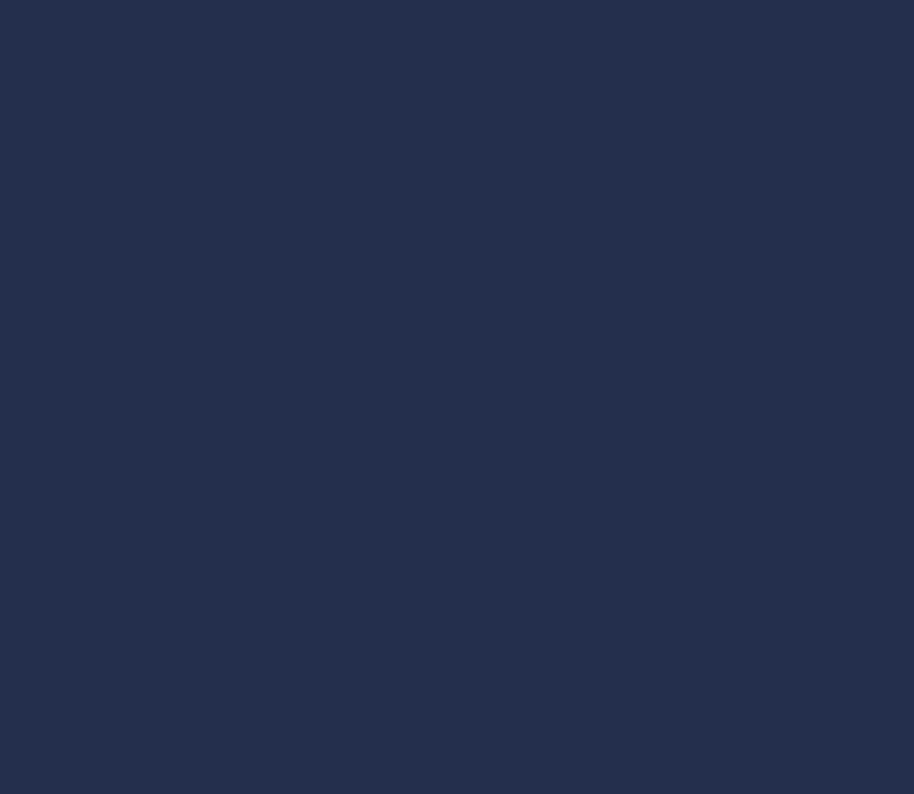 Простыня на резинке 180x200 Сaleffi Tinta Unito с бордюром темно-синяя