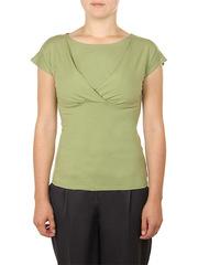 B183-13 блузка женская, зеленая