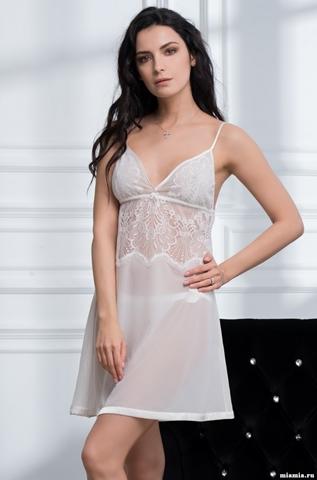 Сорочка женская Mia-Amore AFRODITA АФРОДИТА 2164 белая