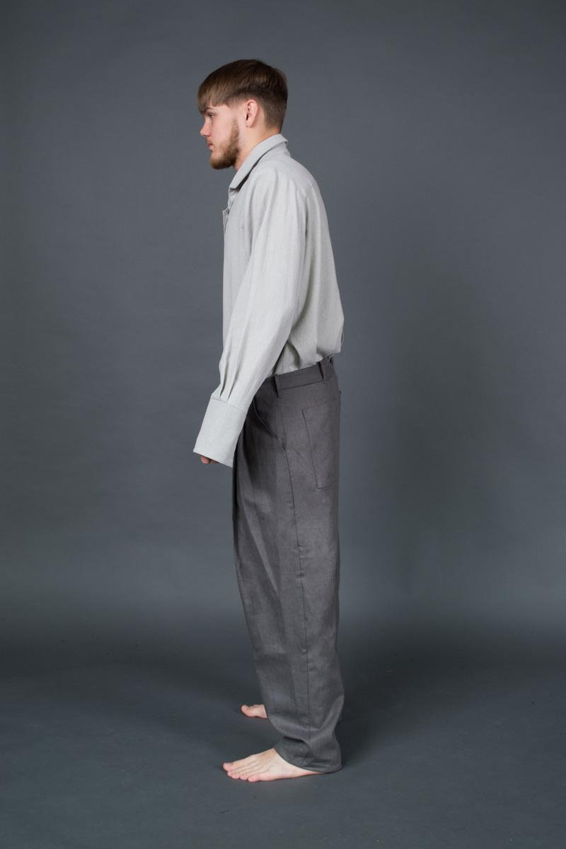 Дизайнерские брюки «SUTORIO»