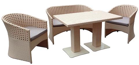 Комплект Женева со столом Монако