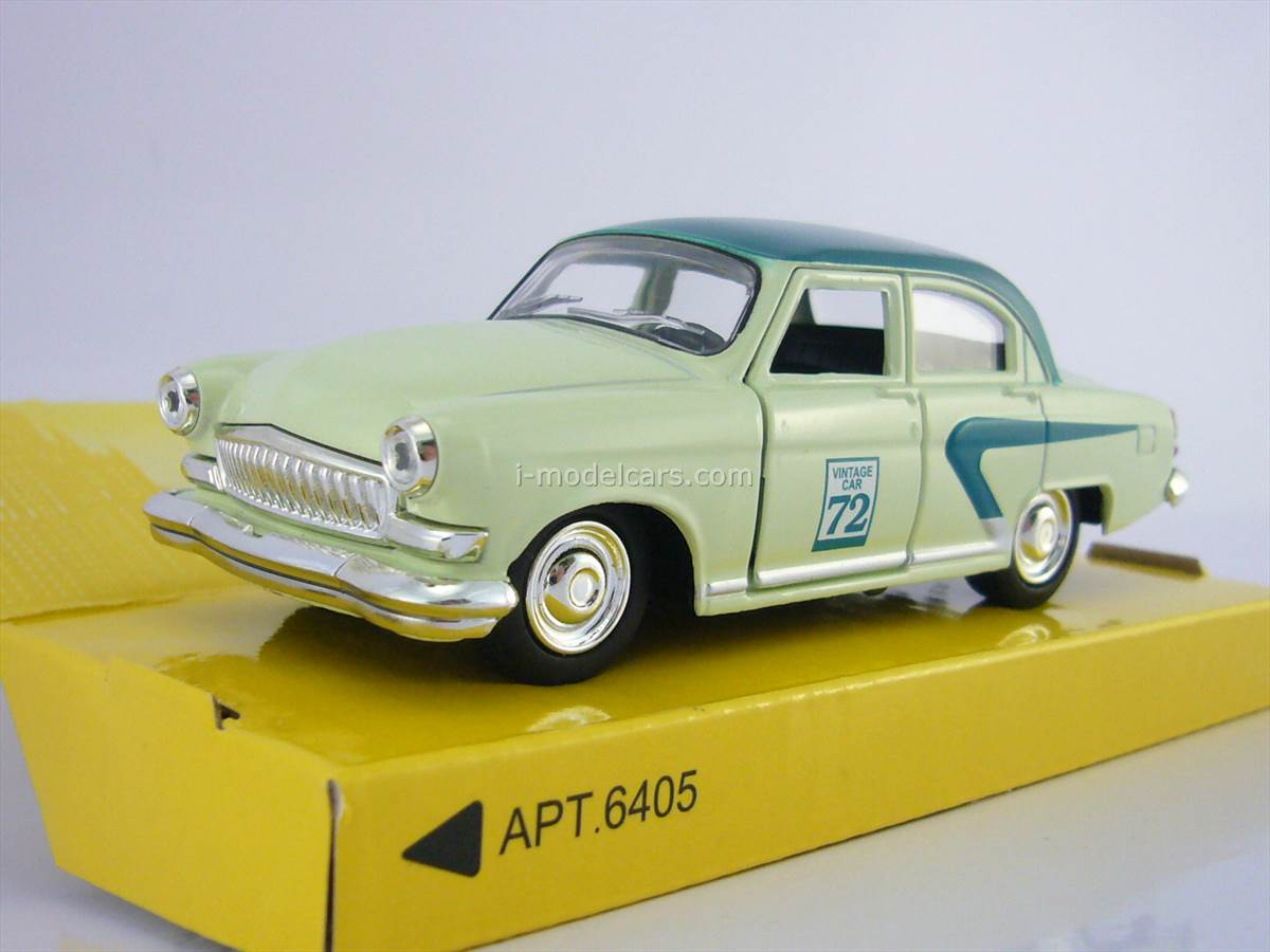MODEL CARS GAZ-21 Volga Vintage car 72 AutoPark 1:43