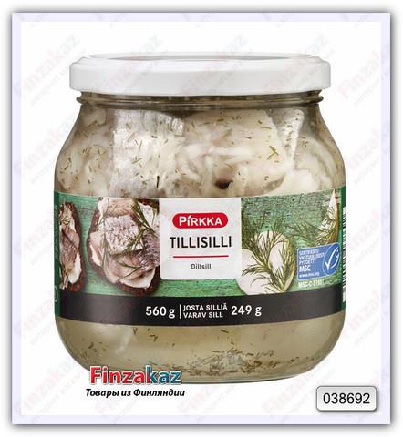 Сельдь Pirkka Tillisilli (пряности) 560/249 гр