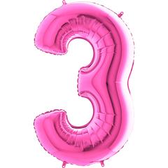 Цифра 3 (Фуксия)