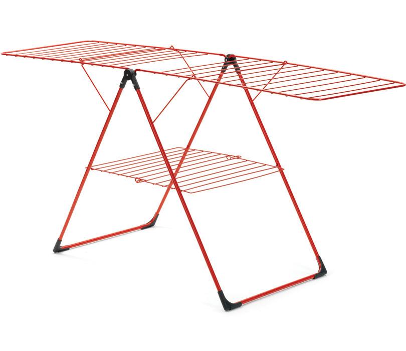 Сушилка для белья напольная (20 м навески), Красный, арт. 108167 - фото 1