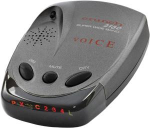 Автомобильный радар-детектор Crunch 2160
