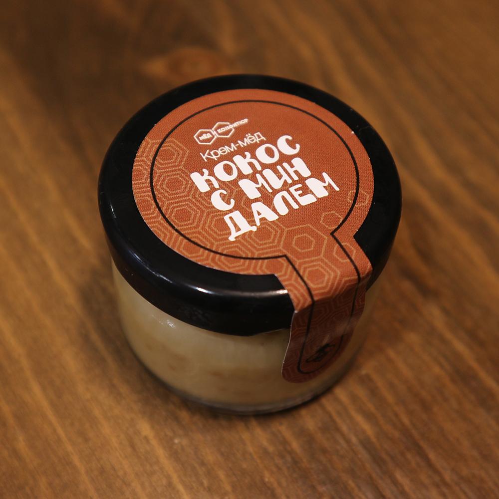 Купить крем-мед кокос с миндалем в Перми