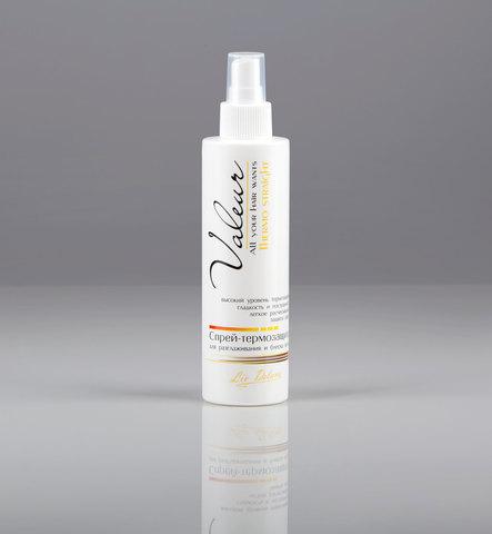 Liv delano Valeur Спрей-термозащита для разглаживания и блеска волос 200г