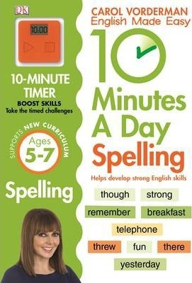 Kitab 10 Minutes A Day Spelling KS1: Carol Vorderman | Carol Vorderman