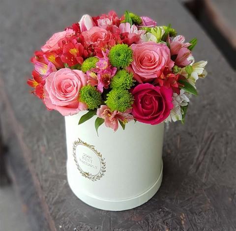 Коробка с микс цветами 9
