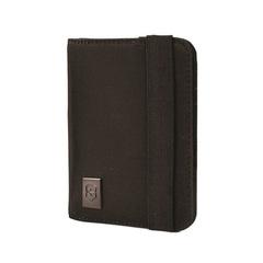 Обложка для паспорта Victorinox, с защитой от сканирования RFID, чёрная, 10x1x14 см