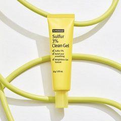 Точечный крем от высыпаний с 3% серы, 30 г / By Wishtrend Sulfur 3% Clean Gel
