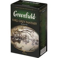 Чай черный Greenfield Earl Grey Fantazy листовой 100г