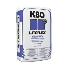 Плиточный клей Клей для укладки плитки LITOFLEX K80 белый