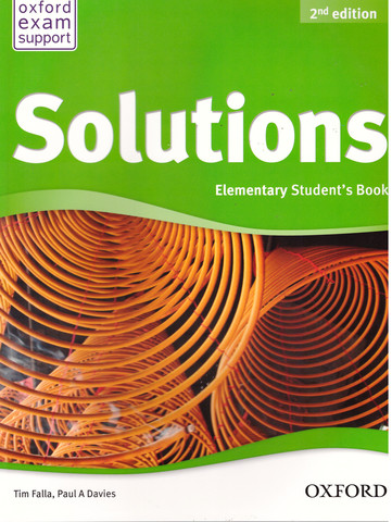 Solutions (2nd edition) Elementary: Student's Book