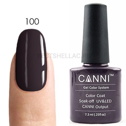 Canni Canni, Гель-лак № 100, 7,3 мл 100.jpg