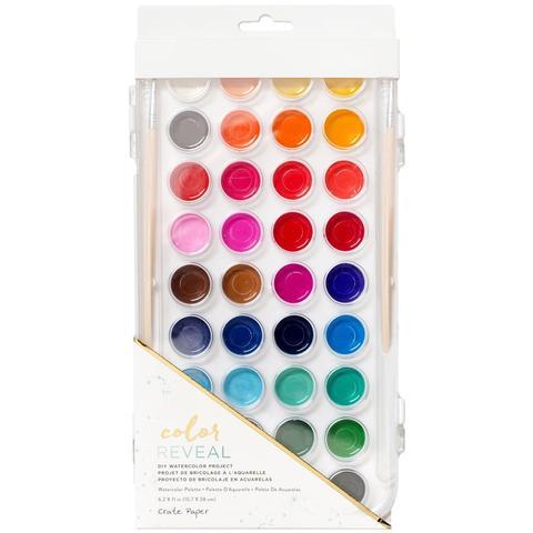 Акварельные краски Color Reveal Watercolor Set 36/Colors