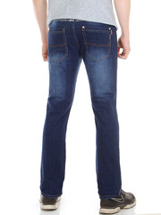 L2117 джинсы мужские, темно-синие
