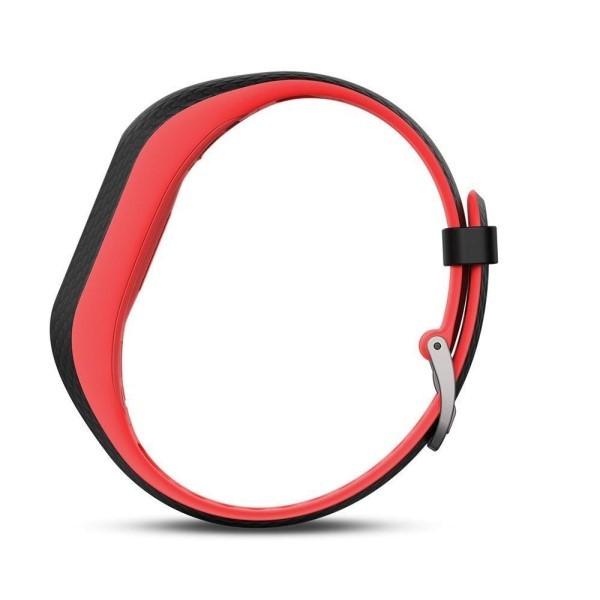 Фитнес-браслет Garmin Vivosport фуксия малого размера