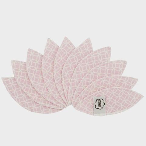 Многоразовые прокладки интимной зоны, 10 шт., Pink Halo