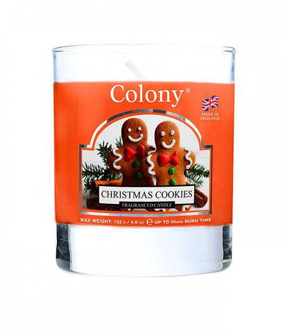 Свеча ароматическая в стеклянной банке Вкусное Рождество, Wax Lyrical