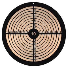 Holz-Zielscheibe rund