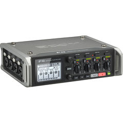 Записывающее устройство Zoom F4 Multitrack Field Recorder with Timecode - 6 Inputs / 8 Tracks