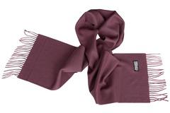 Шерстяной шарф фиолетовый 00801