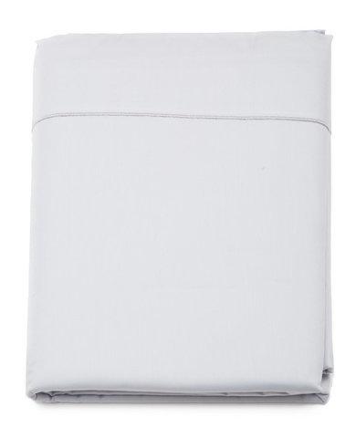 Простыня прямая 280x320 Blanc des Vosges сатин серая