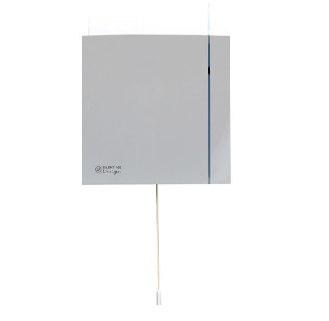 Вентилятор накладной S&P Silent 100 CMZ Design (шнурок вкл/выкл)