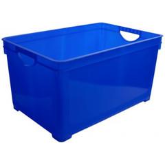 Ящик для хранения универсальный 19 л, синий