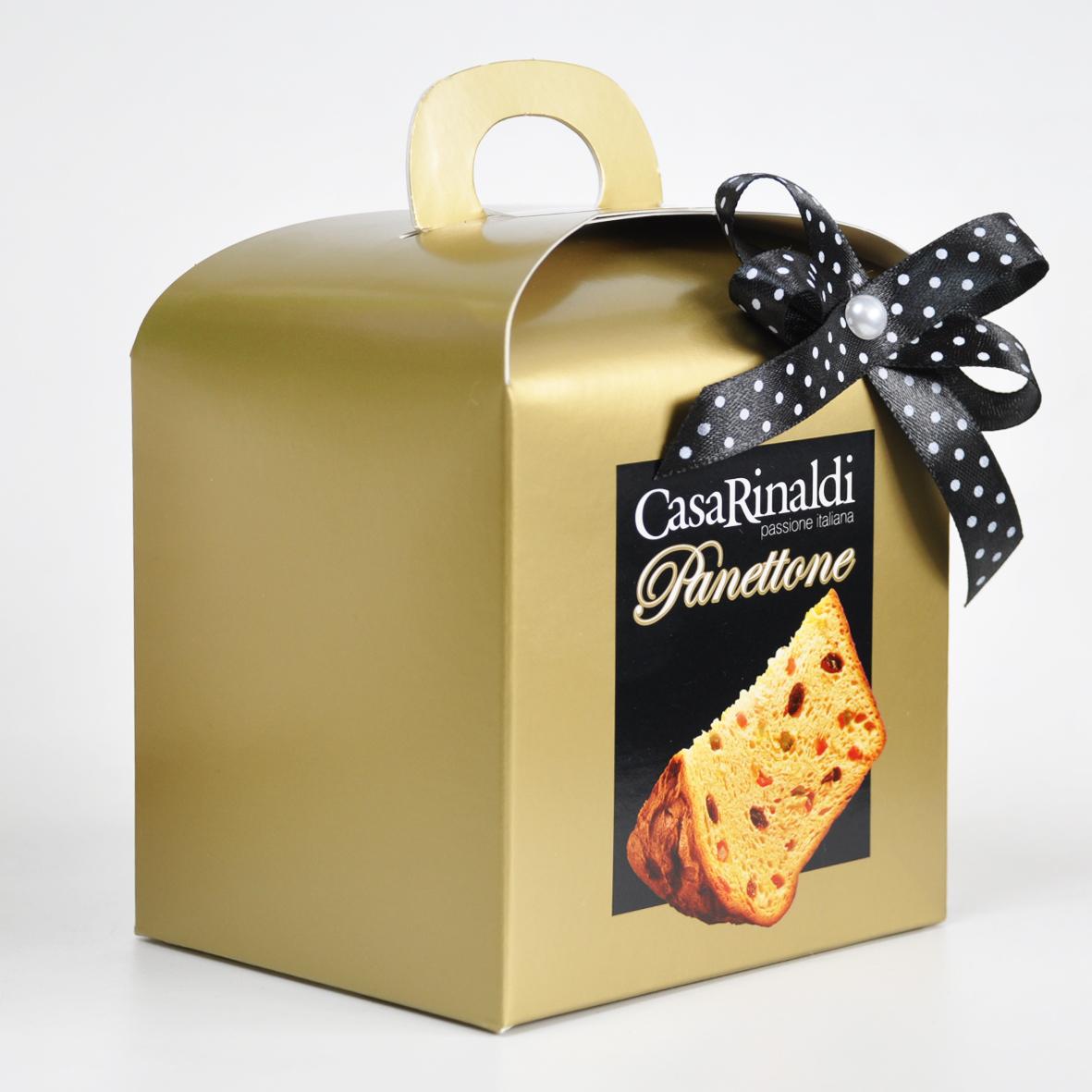 Кулич Casa Rinald Классический 100 г (золотая коробка)