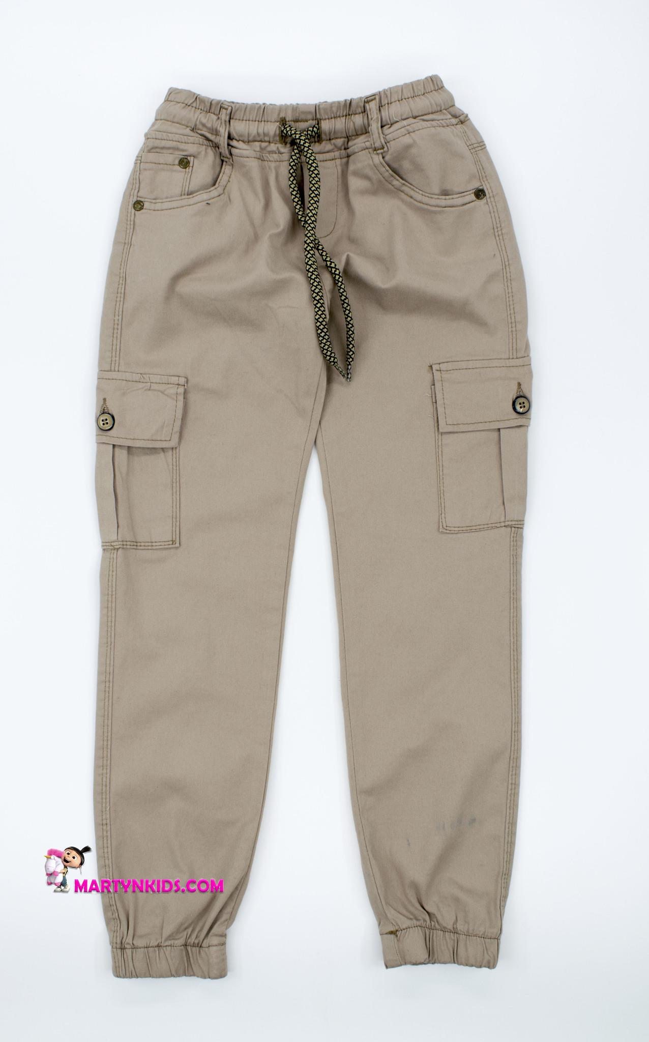 2510 брюки джоггеры клепки