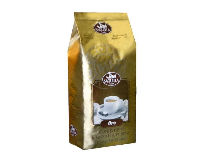 Кофе в зернах Saquella Oro, 1 кг (Саквелла)