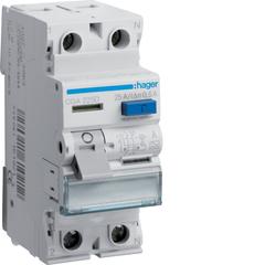 Устройство защитного отключения 2P 25A 500mA A