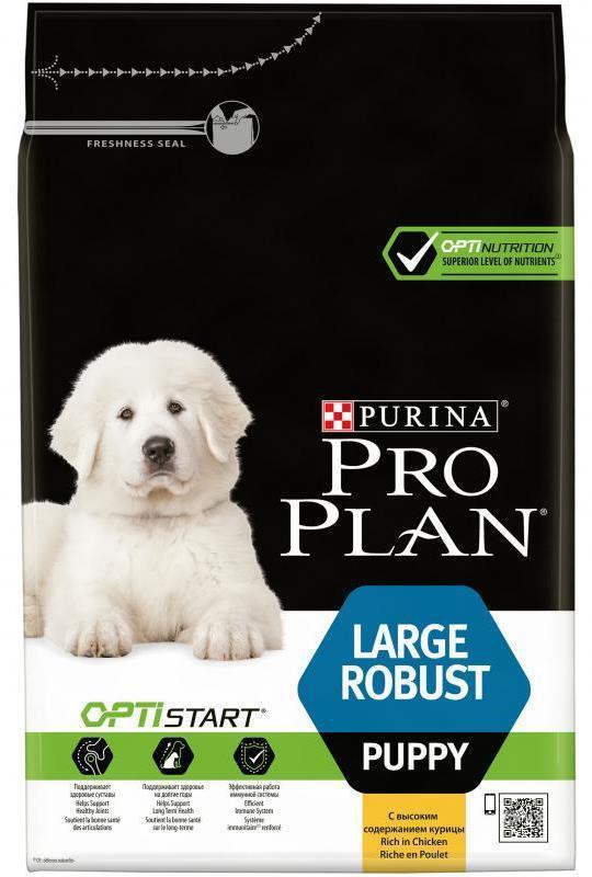 Акции Purina Pro Plan LARGE ROBUST PUPPY для щенков крупных пород с мощным телосложением (курица и рис) щ_кр_мощ_кур.jpg