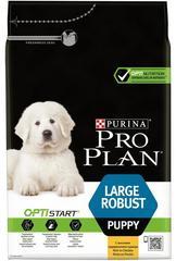 Purina Pro Plan LARGE ROBUST PUPPY для щенков крупных пород с мощным телосложением (курица и рис)
