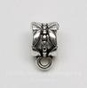 "Бейл ""Ажурный"" 11х6 мм (цвет - античное серебро), 5 штук"