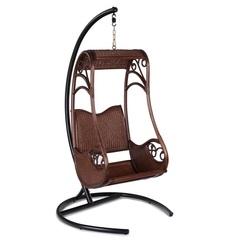 Подвесное кресло из натурального ротанга Hanging Coffe