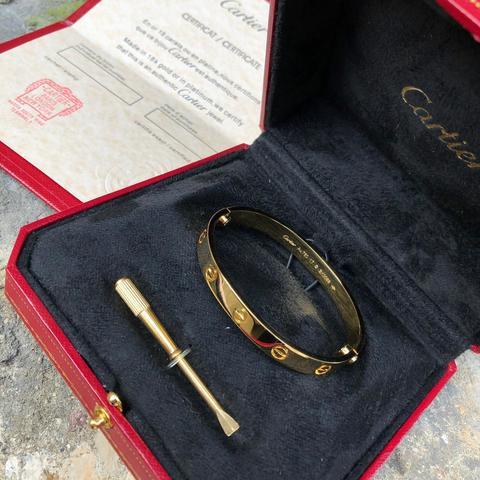Браслет Cartier Love Yellow Gold