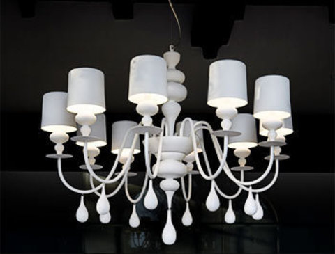 replica  EVA S10 pendant lamp (white)