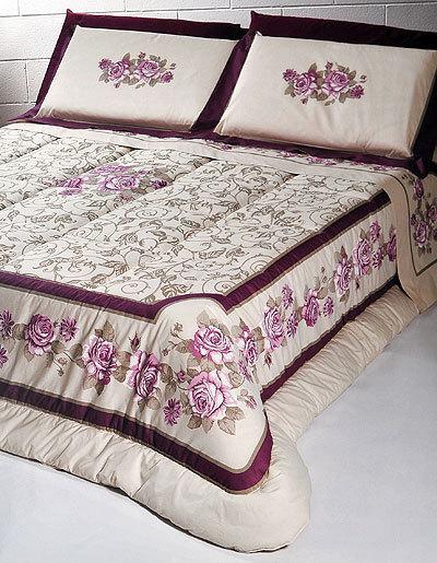 Постельное белье 2 спальное Cassera Casa Musa розовое