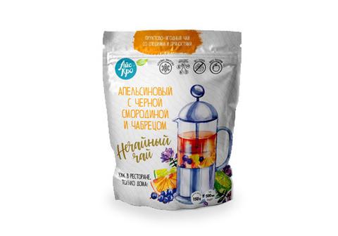 Апельсиновый чай с черной смородиной и чабрецом, 150г