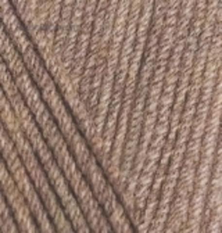 Пряжа Cotton gold (Alize) 688 Кофейно-бежевый меланж - купить в интернет-магазине недорого klubokshop.ru