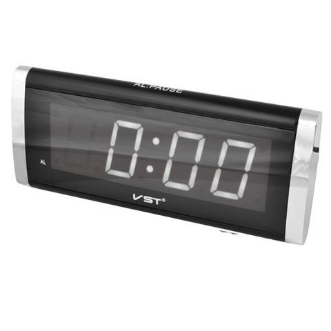 Часы сетевые 730-6 белые, 220V